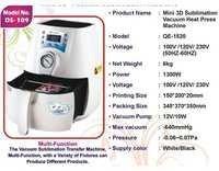 Mini 3D Sublimation Vacuum Heat Press Machine