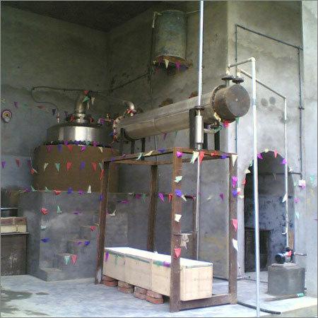 Crude Pine Resin Distillation Plant
