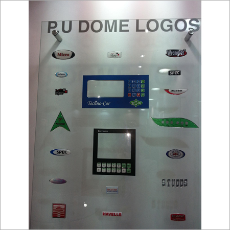 PU Dome Label