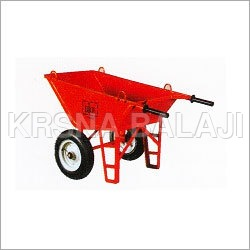 Wheel Barrow Double Wheel with Hook
