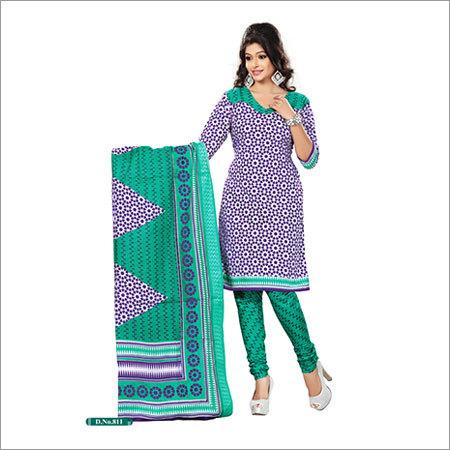 Trendy Look Cotton Sawlar Suit