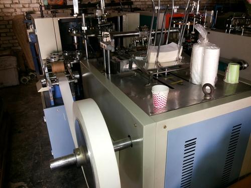 FULLY AUTOMATIC SMALL GWE 2000 PAPER BOWL MAKING MACHINE ABHE SALE KARNA HAI