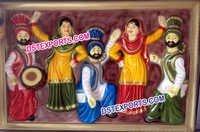 Rangla Punjab Fiber Photo Frame