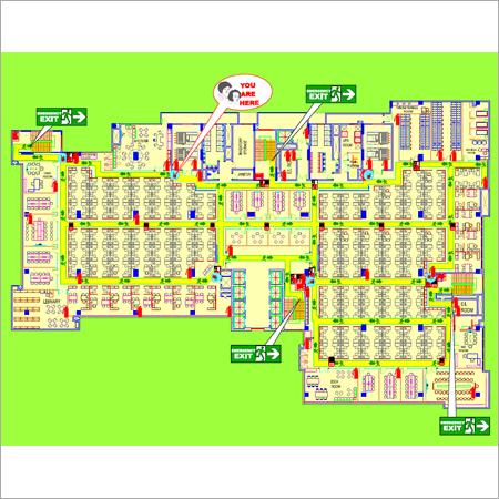 Fire Escape Route Plan