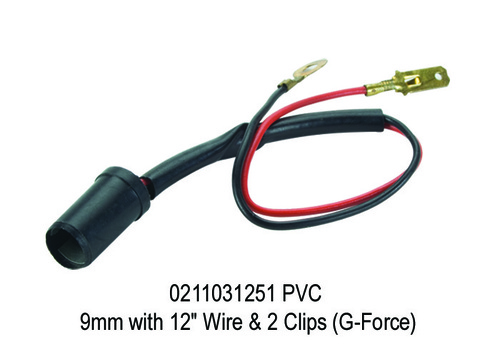 PVC 9mm with 12 Wire & 2 Clips