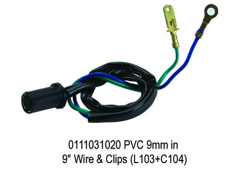PVC 9mm in 9 Wire & Clips (L103+C104)
