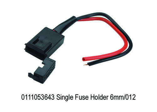 Single Fuse Holder 6mm012