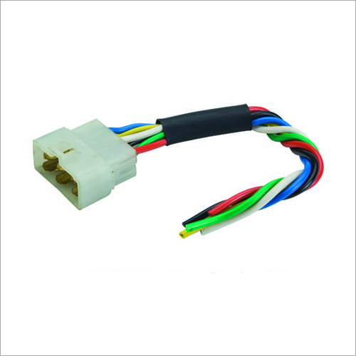 6 Way Male Coupler, 8 Wire