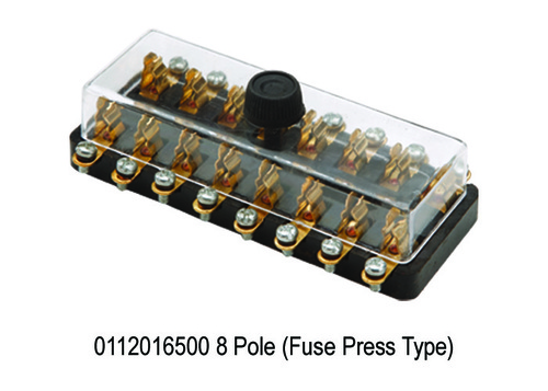 8 Pole (Fuse Press Type)