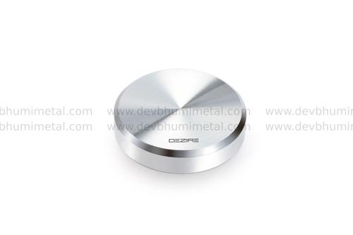 Brass Round Flat Mirror Cap