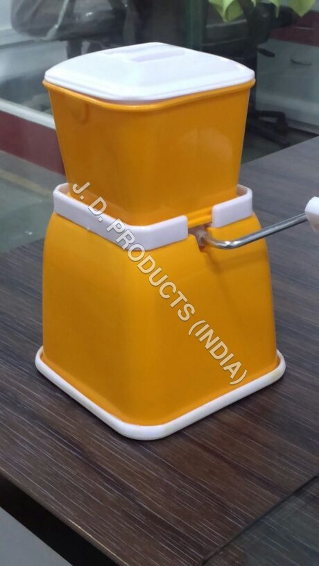 Yellow Plastic Chilly Cutter