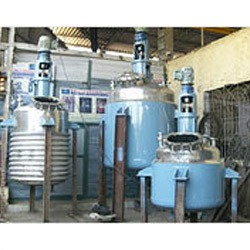 Double Jacketed Reaction Vessels
