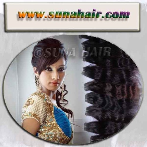 Top Quality Deep Natural Brown Body Wavy Hair Ex