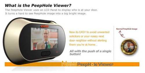 Digital Peep Hole Viewer