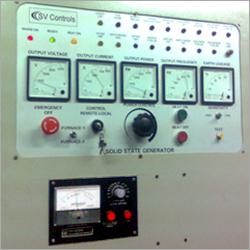 Control Panel Induction Hardening Machines