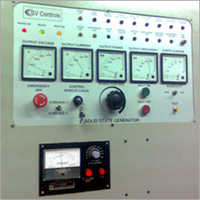 Control Panel Induction Hardening Machines