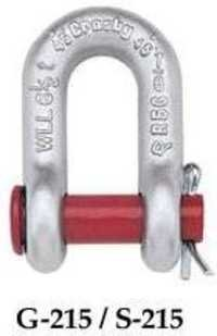 Crosby Round Pin Carbon Chain Shackles
