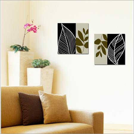 2 Pcs Wall Painting