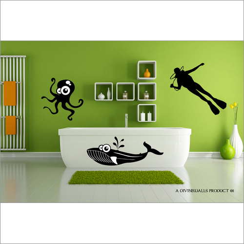 Single Color Wall Decal