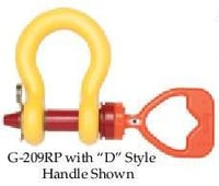 Subsea Shackles with D Or F Style Handle