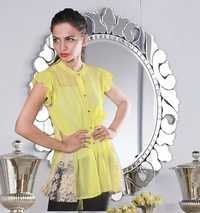 Yellow Women Wear Top