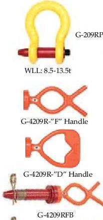 Subsea Shackles F Style Handles