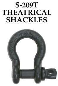 Easy To Operate Theatrical Shackles
