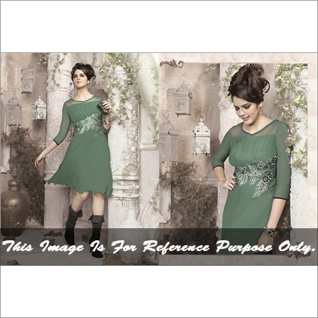 Latest work indo western kurti