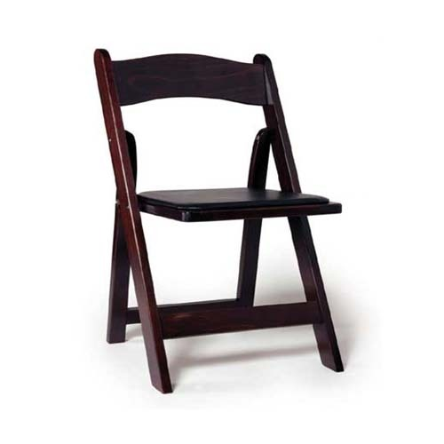 Mahogany Wooden Folding Chair