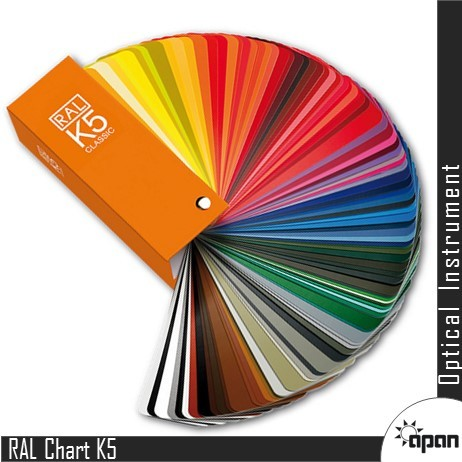 RAL Colour Chart K5
