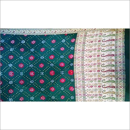 Womens Bandhani Silk Sarees