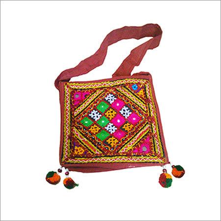 Kutchi Handwork Patches Bag