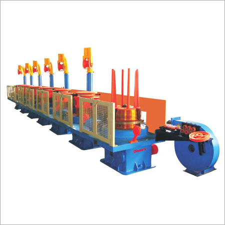 Dry Block Wire Drawing Machine