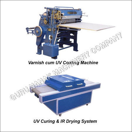 Varnish Cum UV Coating Machine
