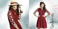 Beautiful maroon indian college wear kurti