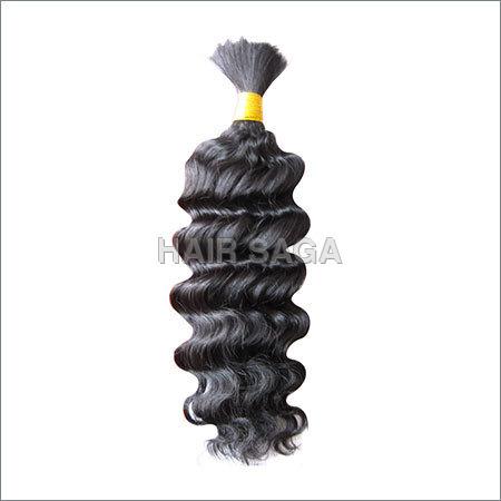 Remy Single Drawn Bulk Curly Hair