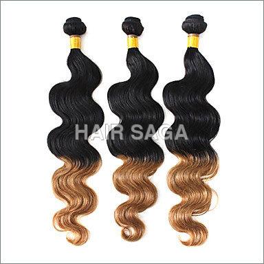 Ombre Virgin Remy Wavy Hair
