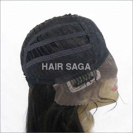 Front Lace Wefted Hair Wig