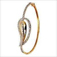 Gold Half Bangle Indian Jewelry