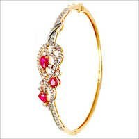 Diamond half bangle manufacturer