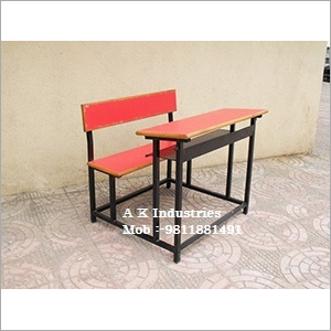 Wooden School Desk
