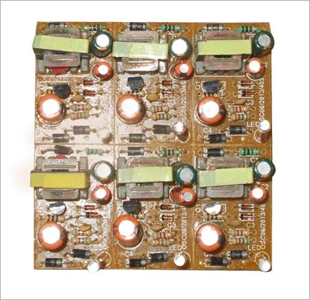 Single Transistor Electronic Circuit