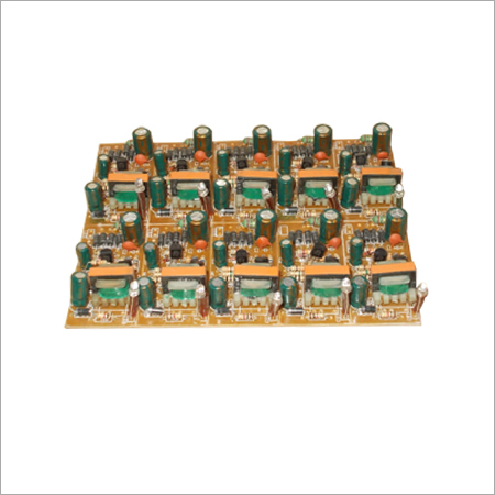 Double Transistor Electronic Circuit