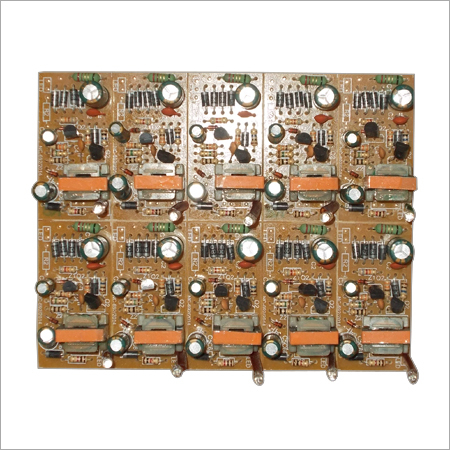 Electronic Double Transistor Circuit