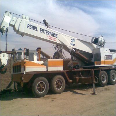 Telescopic Cranes Hiring Services
