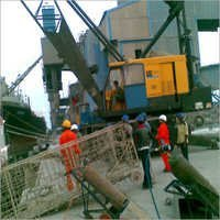 Tyre Mounted Lattice Boom Crane Hiring Services