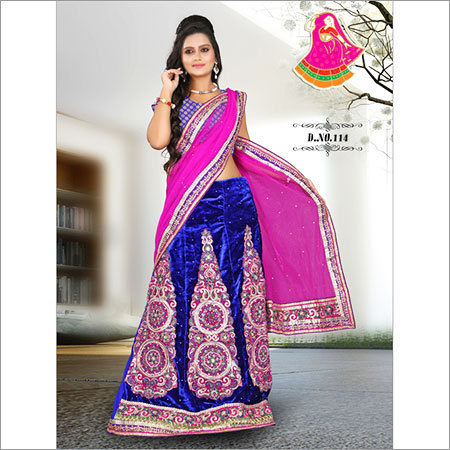 Designer Bridal Lengha Saree MAnufacture