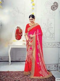 Exclusive Stylish Bridal Wear Saree