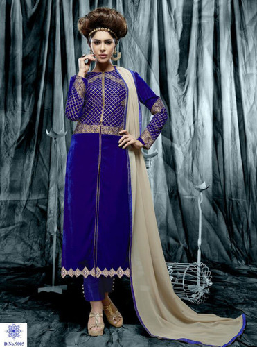 Lovely Velvet Salwar Suit