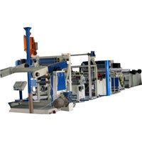 Plastic Poly Coating Lamination Machine